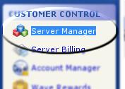 Go to Server Manager